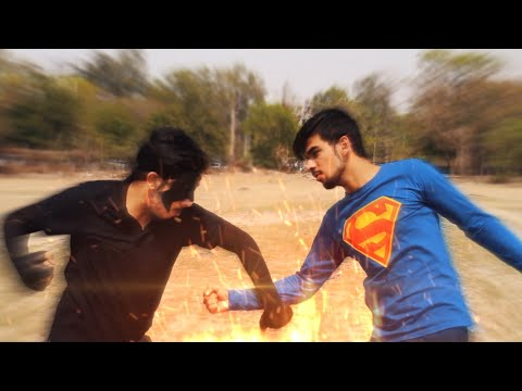 SuperMan Vs Krrish (The Epic Fight Battle)