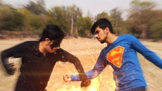 SuperMan Vs Krrish (The Epic Fight Battle)