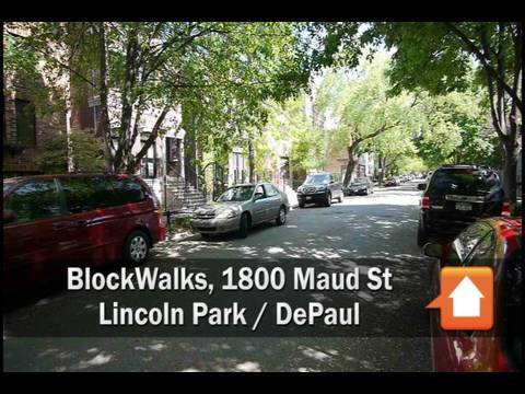BlockWalks: the 1800 block of North Maud Avenue in Lincoln Park