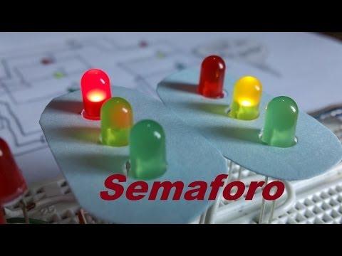 ✅ Circuito Semáforo (Como se hace)