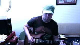 steady rollin man guitar cover
