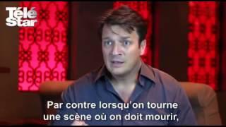 Interview de Nathan Fillion par Télé Star (saison 6)