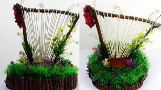 DIY Best Out Of Waste Craft From Dried Branches - Handmade Home Decoration Craft