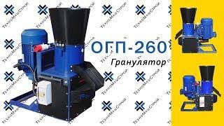 Гранулятор ОГП-260 от компании ТехноМашСтрой - видео