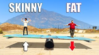 GTA V - Skinny vs Fat [Part 2]