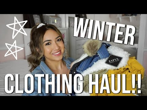 WINTER TRY-ON CLOTHING HAUL!! // ZAFUL