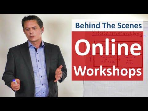Meine Erfahrungen mit Online-Workshops - Behind The Scenes