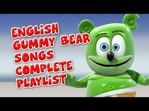 English Gummy Bear Songs Complete Playlist