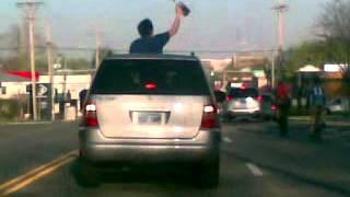 How Jayhawk Celebrate after KU Defeating UNC