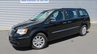 preview picture of video 'Chrysler Grand Voyager Limited V6 2014'