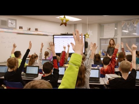 Peters Township School District Establishes Interactive Learning with a Solution Featuring Sharp AQUOS BOARD® Interactive Displays