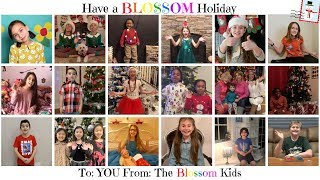Poppy & Posie's Blossom Kids Share Their Holiday Traditions!