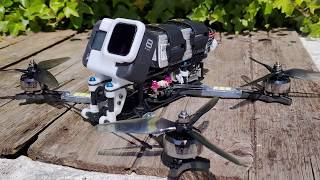 Unlockdown - ROAR FPV FREESTYLE - HaloRC Osiris - iFlight Xing Cyber 2207.5 1777kv - Betaflight 4.2