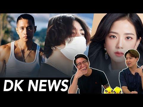 JUNGKOOK, JISOO's Dating Drama / BANNED K-Pop Star returns to Korea?
