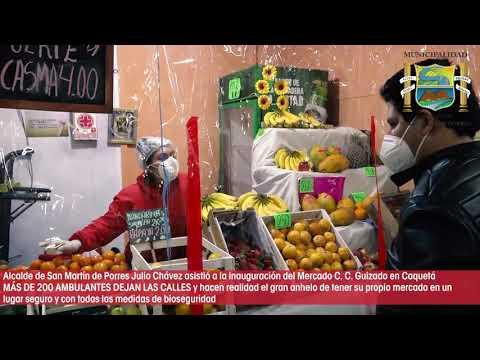 INAUGURACION DEL MERCADO DE LA CHACRA A LA OLLA HNOS GUIZADO EN CAQUETA