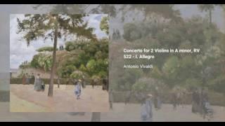 Concerto for 2 Violins in A minor, RV 522