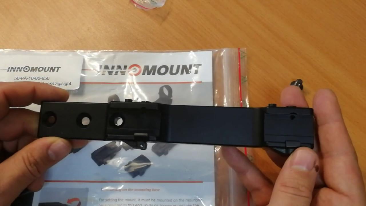 Видео о товаре Быстросъемное крепление Innomount Sauer 404 для прицелов Digisight, Sightline, Apex, Trail (50-PA-10-00-650)