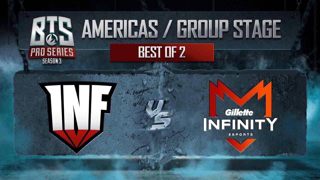 Infinity Esports vs Infamous - BTS Pro Series Season 3  - Dota 2