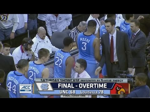 Video: UNC-Louisville Game Highlights