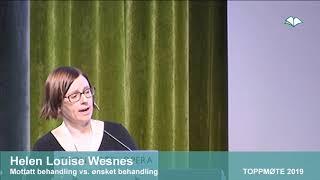 Toppmøte 2019 – Helen Louise Wesnes