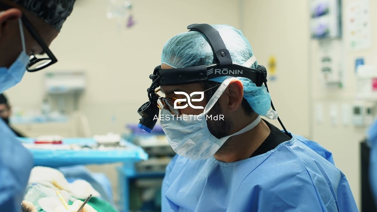 Video Thumbnail Of Dr. Macias in surgery outfit