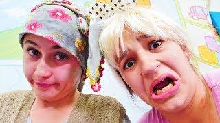 Reyhan abla rus torunu sevgilisi ile Skype ile görüşme! Komik video