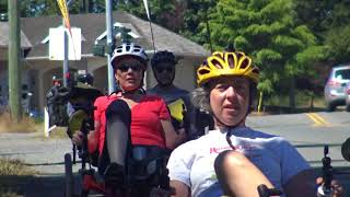 RPDX Catrike Friends Ride Vancouver Island British Columbia