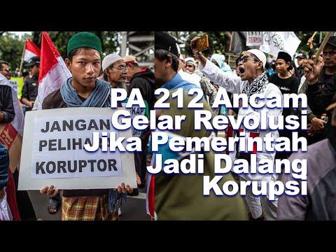 PA 212 Ancam Gelar Revolusi Jika Pemerintah Jadi Dalang Korupsi