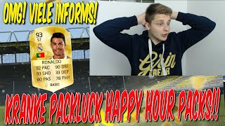 FIFA 16 KRANKES PACKLUCK HAPPY HOUR PACK OPENING DEUTSCH  FIFA 16 ULTIMATE TEAM  VIELE INFORMS