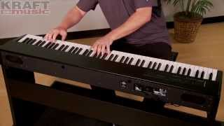 Kraft Music   Roland F 20 Digital Piano Performance With James Day