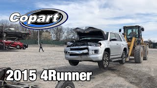 Crazy New SUV Rebuild! Rebuilding a Wrecked 2015 Toyota 4Runner Limited From Copart Salvage Auction