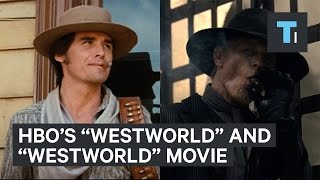 "Similarities between HBO's ""Westworld"" and the movie"