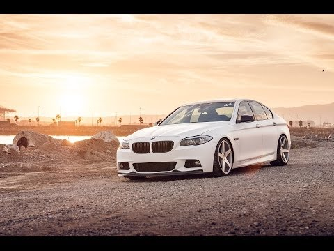 """2013 BMW 550i on 20"""" Avant Garde M550 / AG Wheels"""