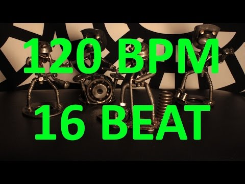 100 BPM - PUNK - 4/4 Drum Track - Metronome - Drum Beat - Backing