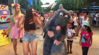 Fun Pixar Dance Party With Chef Remy At Disneyland