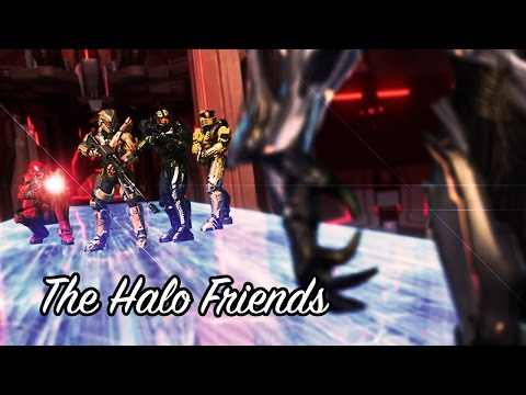 some idiots played halo and here's the funny parts (Halo 4 Friends Highlights)