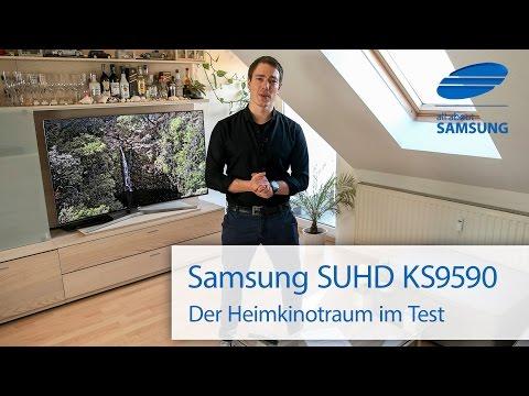 Samsung KS9590 SUHD TV Testbericht - Gebogenes Heimkino mit 65 Zoll