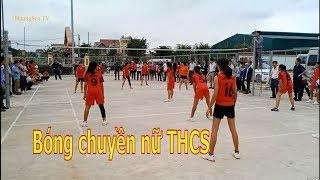 Bóng chuyền học sinh nữ THCS Thạch Thành 2019   Thành Công  &  Thành Mỹ