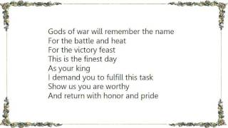 Battlelore - Storm of the Blades Lyrics
