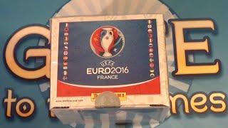 MEGA! Panini UEFA Euro 2016 Sticker DISPLAY BOX UNBOXING - 500 Sticker / 100 Packs Fußball EM 16