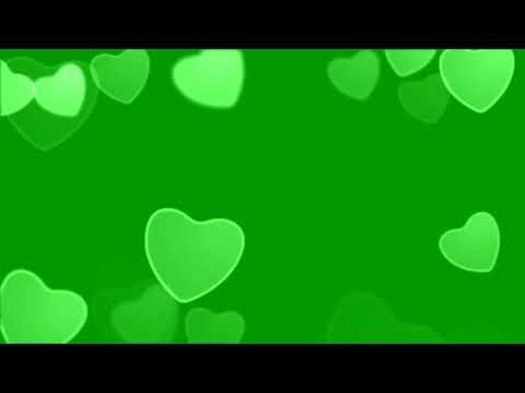 СЕРДЕЧКИ  ХРОМАКЕЙ   Green Screen