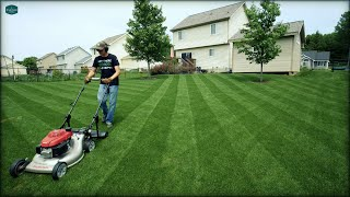 LAWN STRIPING - The KEY To AMAZING Lawn Stripes!!
