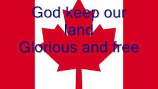 Hymne national du Canada en Anglais