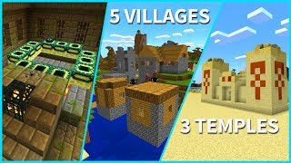 Minecraft PE Seeds - Epic Village on a Mountain Seed - 0 16