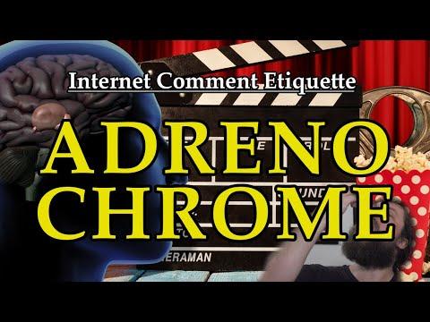 """Internet Comment Etiquette: """"Adrenochrome"""""""