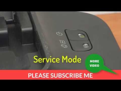 How to fix Canon MP287 error E08 or iP2770/iP2772 error 5B00