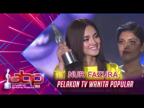 Nur Fazura - Pelakon TV Wanita Popular | #ABPBH31