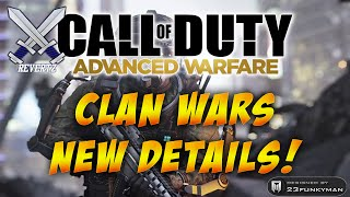 """Call Of Duty Advanced Warfare"" NEW Clan Wars Matchmaking & Roster System Full Details + Clan Update"
