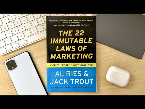 Marketing for Software Developers: The 22 Immutable Laws of Marketing Review thumbnail