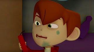 Макс Грин и инопланетяне –Макс - вуду-зомби- серия 39 - Мультфильм для детей – НЛО